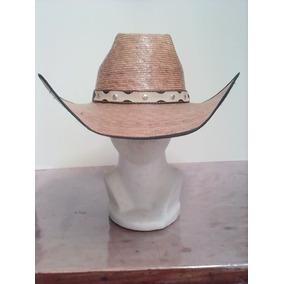 Sombrero Vaquero 8 Segundos Palma Quemado Envío Gratis 226406e86a8