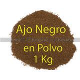 Ajo Negro Por Kilo Polvo Mayoreo Black Garlic Envio Gratis