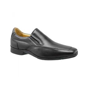5c1ecb361 Sapato Social Preto Couro Pelica Mulher Feminino - Sapatos no ...
