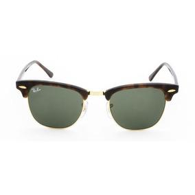 Ray Ban Clubmaster Rb3016 51 Tartaruga dourado W0366 De Sol - Óculos ... 7cfb07dfe3