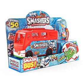 Bus Cancha De Futbol Smashers Con Figuras