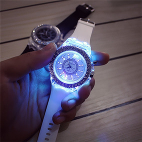 Reloj Luz Led Diamond Deluxe