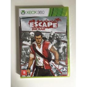 Jogo Xbox 360 Dead Island Escape - Lacrado - Em Estoque