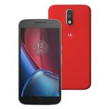 Smartphone Motorola Moto G4 Plus Xt1640 32gb Vermelho P