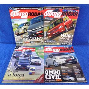Lote Revista Quatro Rodas(4) N°561,566,476,585 Pronta Entreg