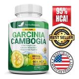 Garcinia Cambogia Importada 95% H C A Redutor Apetite 100%