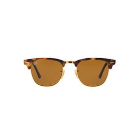 6216cc3f2a111 Óculos Ray Ban Clubmaster Rb3016 Marrom  Dourado - Óculos no Mercado ...