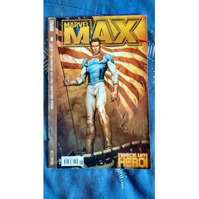 Gibi- Marvel Max 8 - Nasce Um Herói - Abril/2004