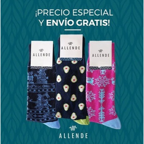 Kit Allende Mx 3 Pares De Calcetines Artesanal