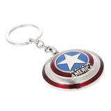 Llavero Metalico Capitan America Marvel Series Dc