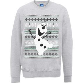 Sudadera Ugly Sweater Frozen Navidad Anna Y Elsa Todas Talls