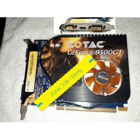 Placa De Vídeo Geforce Zotac 9500gt 1gb 128mb Ddr2