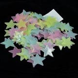 Estrellas Techo Fluorescente Paquete 300 Brillan Obscuridad