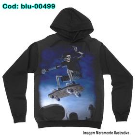 fb8ecb19a6991 Camiseta Larga Skate - Calçados, Roupas e Bolsas no Mercado Livre Brasil