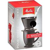 Melitta Ready Set Joe Tostadora De Café, Una Taza Con Cono D
