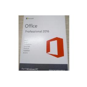 Office 2016 Pro - Professional Novo Original Cartão Lacrado