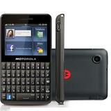 Motorola Motokey Ex225 - 3mp / 3g / Wi-fi / Qwerty / Touch