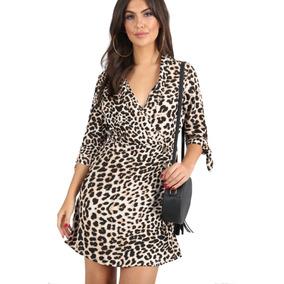 Vestido Casual Para Mujer Color Leopardo