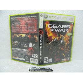 Gears Of War Original Midia Fisica Completa P/ Xbox 360