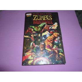 Hq Marvel Terror Zumbis Marvel Coleçao Completa 1 Ao 4 Gibis