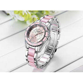 3625c6eb08cf Pulseras Para Mujer Plata Relojes - Relojes Pulsera en Mercado Libre ...