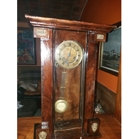 Antiguo Reloj De Pared Aleman De Pendulo 1880-1900 U$s 260