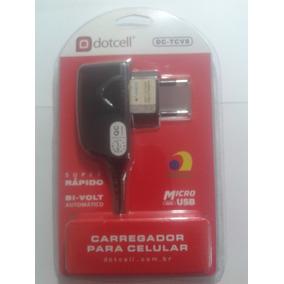 Carregador De Celular V8 Dot Cell Original !