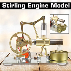 c39fe6dae80 Motor Stirling Com Gerador Acoplado - Modelismo Profissional no ...