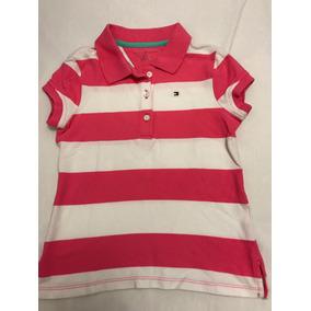Camisa Polo Infantil Tommy Hilfiger Tam 6/7 - Original