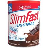 Slim Fast Chocolate 34 Malteadas Bote Grande 884gr