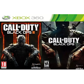Call Of Duty Black Ops 1 E 3 Em Midia Digital Xbox 360
