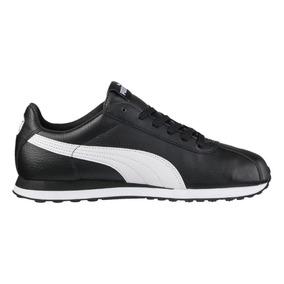 Tenis Puma Low Boot C Turin Blanco Negro Unisex 360116 01