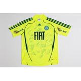 Camisa Do Palmeiras Autografada Leandro 6 Oficial adidas