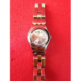 6134463e9f7 Relogio Swatch Fundo Rosa - Relógios no Mercado Livre Brasil