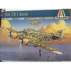 Savoia Marchetti S.m.79 - Italeri Nº 1261- 1:72