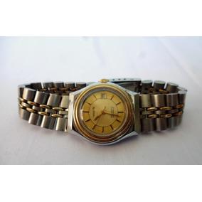 Reloj Haste Automatico Vintage En Acero Inoxidable Funcional