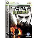 Tom Clancys Splinter Cell Double Agent Xbox 360 Fisico Semi