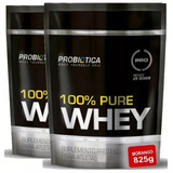 Kit 2x Whey 100% Pure Refil 825g - Probiótica