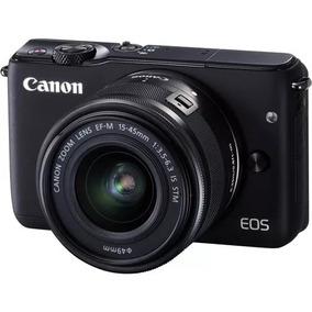 Câmera,maquina Digital Canon Semi Profissinal M10 Kit 15-45