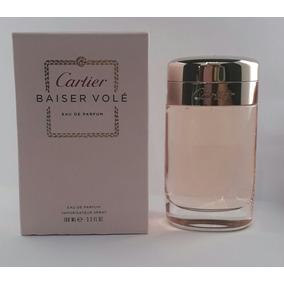 3ca0cecfc89 Perfume Cartier Baiser Volé Fem Edp 100ml + Brinde Amostra