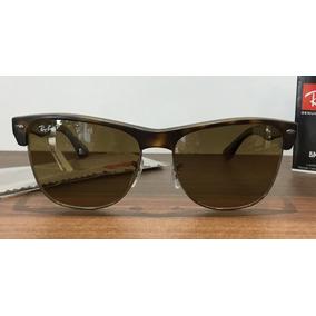 7f1892d2f4490 Óculos De Sol Ray Ban Rb8056 8g Titanium Azul Original · Ray Ban Clubmaster  Oversized Polarizado