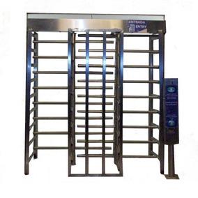 Puerta Giratoria Doble Con Sistema De Cobro Shield3