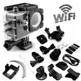Camara Wifi Video Full Hd 12mp Deportes Resistente Al Agua