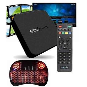 Smart Tv Box Mxq 4k 2gb/16gb+ Mini Kayboard Led Color