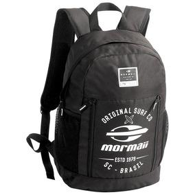 Mochila Mormaii Preta Mbla102503 Porta Notebook