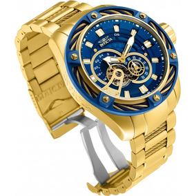 6e6efaf8c16 Relógio Invicta Bolt 26776 Original Banhado Ouro 18k
