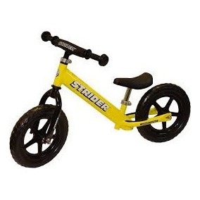 Street Rider Balance Bike - Para Treinar Equilibrio Amarela