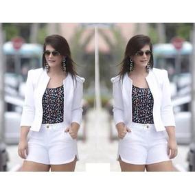 Conjunto Elegante Short E Blazer