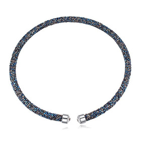 Collar Con Cristales, Ocean Heart Oh17-93