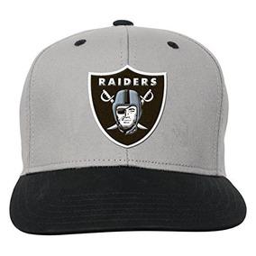 Equipo De Nfl Oakland Raiders Niños Jóvenes Flatbrim Gorra S 52d79c101a6